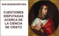 Cuestiones disputadas acerca de La Ciencia de Cristo