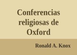 Conferencias religiosas de Oxford