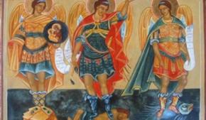 Miguel, Gabriel, Rafael, Arcángeles en acción