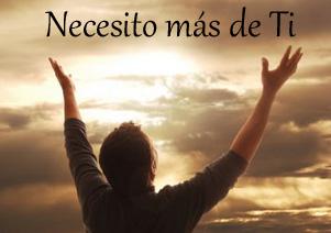 necesito mas de ti