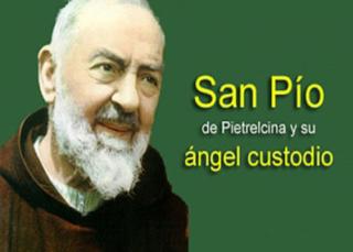 San Pío de Pietrelcina y su ángel custodio