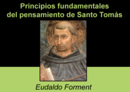 Principios fundamentales del pensamiento de Santo Tomás