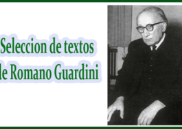 Seleccion de textos de Romano Guardini