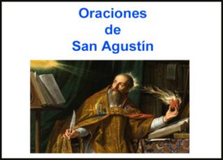 Oraciones de San Agustín