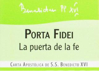 Carta apostólica en forma de Motu proprio Porta fidei