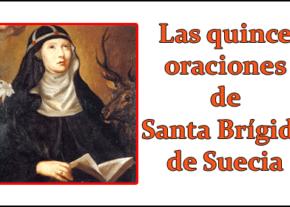 Las quince oraciones de Santa Brígida de Suecia
