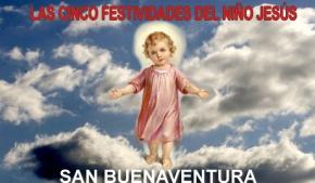 Las cinco festividades del Niño Jesús