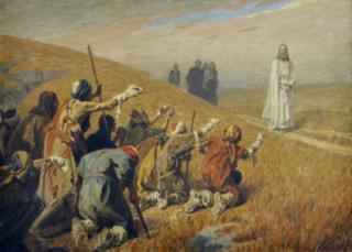 Curación de diez leprosos