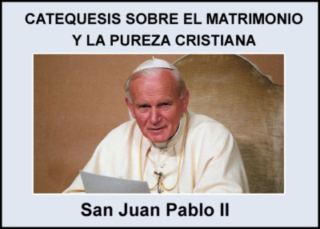 Catequesis sobre El Matrimonio y La Pureza Cristiana