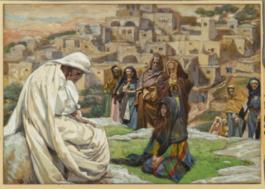 Jesús llora sobre Jerusalén