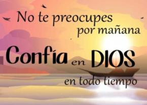 La confianza en Dios