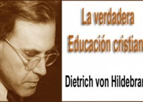 La verdadera educación cristiana