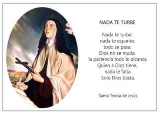 Poemas de santa Teresa de Ávila