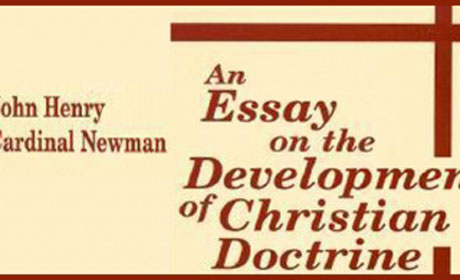 newman an essay on the development of christian doctrine