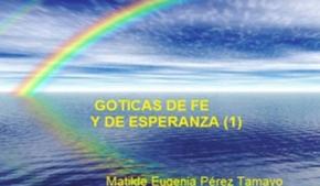 Goticas de fe y esperanza