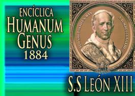 Carta Encíclica Humanum Genus