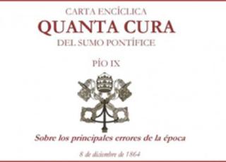 Quanta Cura, Carta Encíclica