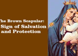 Download eBook The Brown Scapular, the Most Powerful Sacramental