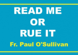 Read Me or Rue it