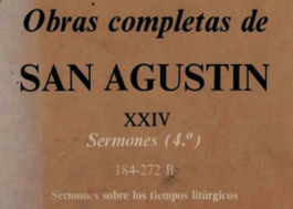Obras de San Agustín Tomo XXIV