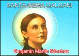 Santa Gema Galgani (Ilustrado)