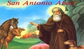 San Antonio Abad y San Pablo Ermitaño (Ilustrado)