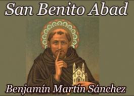 San Benito de Nursia (Ilustrado)