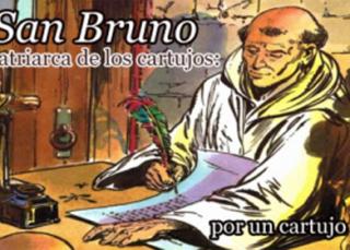 San Bruno Patriarca de los cartujos (Ilustrado)