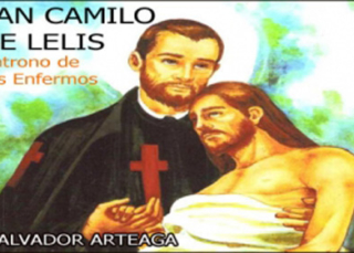 San Camilo de Lelis (Ilustrado)