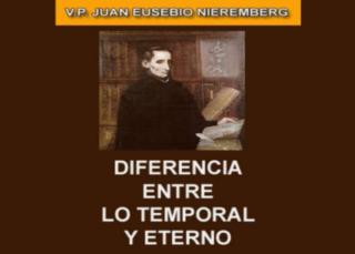 Diferencia entre lo temporal y eterno
