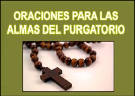 Oraciones para las almas del Purgatorio
