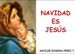 Navidad es Jesús