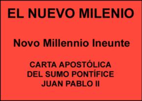Carta Apostólica Novo Millennio Ineunte