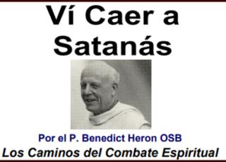 Ví Caer a Satanás