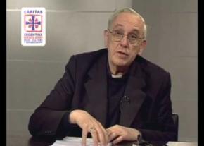 Charla de Cardenal Bergoglio a miembros de Cáritas (Videos)