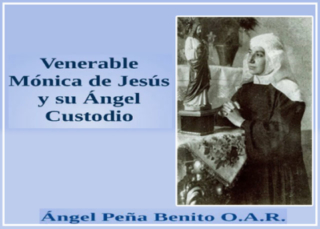 Venerable Mónica de Jesús y su Ángel Custodio