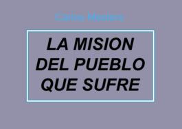 La Misión del Pueblo que sufre