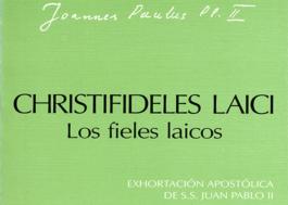 Exhortación Apostólica Christifideles laici