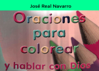 Oraciones para colorear y hablar con Dios  para niños de Educación Primaria