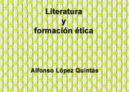Literatura y formación ética