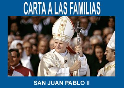 Libro eBook Carta a las Familias del Papa San Juan Pablo II