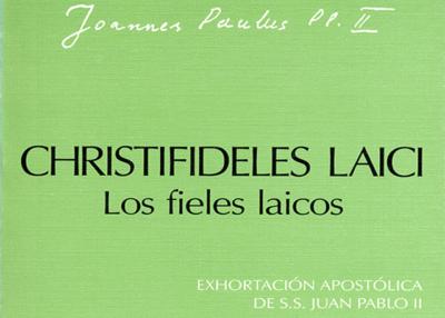 Libro eBook Exhortación Apostólica Christifideles laici