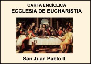 Libro eBook Carta Encíclica Ecclesia de Eucharistia