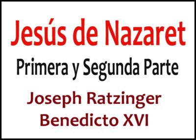 Libro eBook Jesús de Nazaret Primera y Segunda Parte