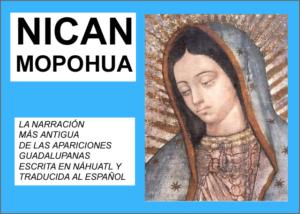 Libro eBook Nican Mopohua, Relato de las apariciones de Santa María de Guadalupe