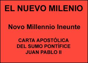 Libro eBook Carta Apostólica Novo Millennio Ineunte