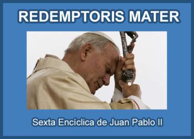 Libro eBook Carta Encíclica Redemptoris Mater