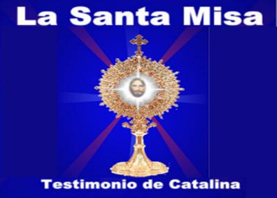 Libro eBook La Santa Misa Testimonio de Catalina Rivas