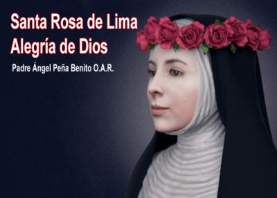 Libro eBook Santa Rosa de Lima alegría de Dios