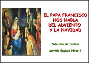 Libro eBook PDF El Papa Francisco nos habla del Adviento y La Navidad